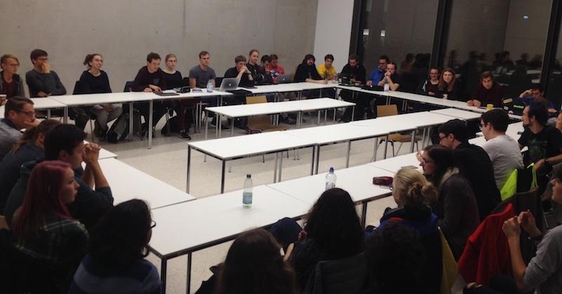 Fachschaftssitzung MathPhysInfo Studierendenvertretung Mathematik Physik Informatik Universität Heidelberg